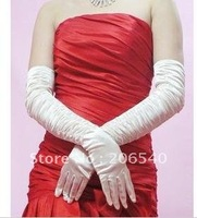 Marriage gauze gloves bride gloves mittens satin gloves have extended gloves drape bride gloves