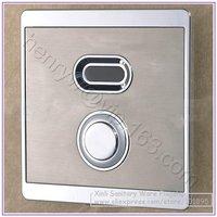 Retail-Luxury Brass Toilet Automatic Flush Valve, Sensor Urinary Flush, Sensor & Manual 2 Function, Wall Mounted, Free Shipping