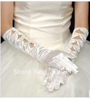 free shipping brand new Marriage gauze gloves bride gloves has a longer string of butterfly glove gloves bowknot gloves adorn