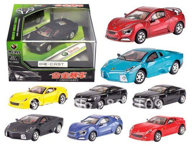 WLtoys 1:63 Mini 7CM RC Car Electric Toy & Lights Coke Cans WL 2015-1A