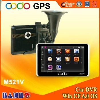 5 inch car dvr gps navigation system  Bluetoothm  AV in   Rear view camera   Radar warning