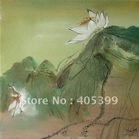 Free Shipping !!! High Quality Drop Ship!!  Modern Flower Oil Painting On Canvas  ythh032