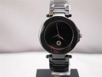 Fashionable white high-grade ceramic watches female  watch