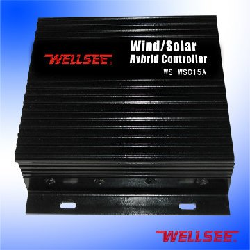 50% discount WS- SWC 15A DC12/24 15A Wellsee Wind/Solar Hybrid light(China (Mainland))
