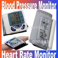 Promotion!!! Automatic Digital Wrist Blood Pressure Monitor & Heart Beat Meter
