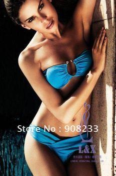 Fashion Sexy Women's Bikini Set,Victoria Style Hot Selling Swimwear,New Arrival Pad Lined Inside,20set/lot,Free Shipping By EMS