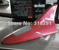 Solar burst flash shark fin antenna anti-rear-end collision warning light car dome light wind light 1