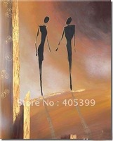 Free Shipping !! Drop Ship! Gallery Quality Modern  Abstract  Oil Painting On Canvas ytktv(55)