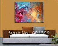 Free Shipping !! Drop Ship! Gallery Quality Modern  Abstract  Oil Painting On Canvas ytktv(68)