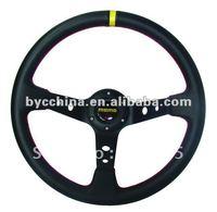 14 inches leather Racing Steering Wheel MOMO Drifting Steering Wheel