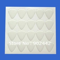 Free Shipping 1000 pcs/Lot 31*26 mm Clear Guitar Epoxy Sticker , Clear Drip-Shape Crystal Dome Label For DIY Jewelry