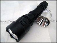 Free EMS/DHL,20pcs/lot,Super Long Shoting UniqueFire HS-801 CREE R2 LED 300 LM 3 mode LED Flashlight torch