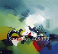 Free Shipping !!  Quality Painting ,Modern Abstract  Oil Painting On Canvas  JYJDH144