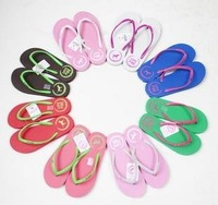 Free shipping Pink love fashion flipflopper candy color flip flops flops thong sandals beach sandal garden shoes slipper