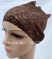 H413 latest design lace underscarf,free shipping,fast delivery,assorted colors