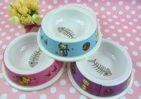Free shipping Pet food bowl Dog bowl Pet supplies Cat bowl