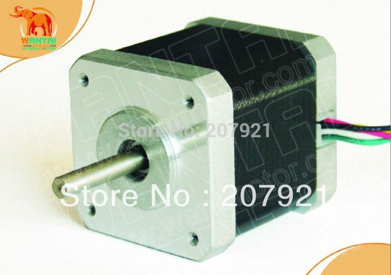 Шаговый двигатель Wantai 4 Nema17 2.6kg.cm 4 & 36vdc/1.7a/128 M415B 42byghw208