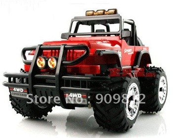 Free Shipping Remote control big Hummer car, Remote off-road vehicles, Large remote control car model, 1:16 0.62kg