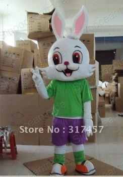 Easter Bunny Bug Rabbit Mascot Costume Animal mascot costume free shipping