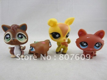 action toy figure/figure toys 20 pcs/lot   New Hasbro Dolls.baby doll,Hasbro Littlest Pet Shop,many style mix order