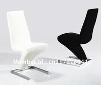 Soft Leather Dining Chair. (other material such as PVC  PU  Hard leather  Fabric  also available)