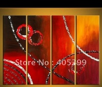 Free Shipping Wordwide !! Thick Texture  High Quality Modern Wall Art Canvas Oil Paintings ytth153