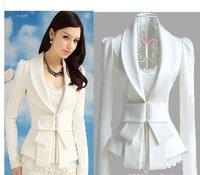 Женский костюм 2013 New No Button suits for women, Fashion women's blazer 8511 4 colors, plu size