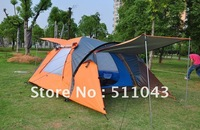 Outdoor equipment quality goods camping tent three German tent four people more than double tent camps