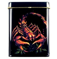 Steel and Metal Materials   Baked paint  cigarette case 20 branch extended-Scorpion King, ah