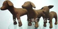 Chocolate Khaki Dog Mannequins/Dog pattern/dog mannequins wholesale