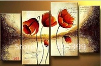 Free shipping !!! Huge Gallery Quality Thick Texture  Modern Oil Painting On Canvas G195