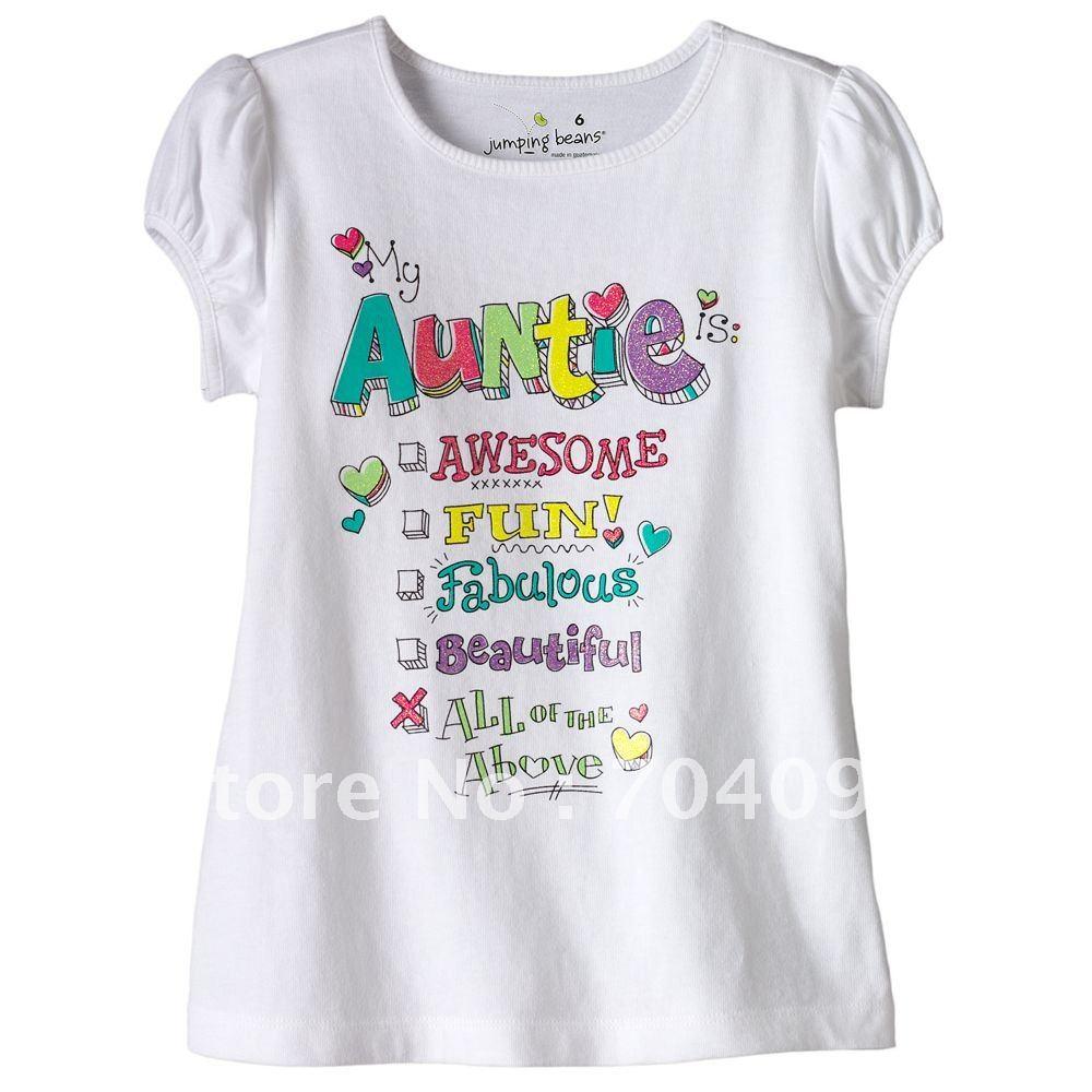 ... short sleeve Baby Tee wholesale 6pcs Children shirt Baby cotton tshirt