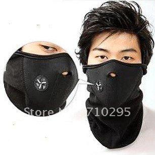 Wholesale Neoprene Neck Warm Face Mask Veil Guard Sport Bike Motorcycle Ski Snowboard 3 colors 50pcs/lot EMS free shipping