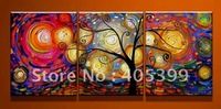 Free shipping ,Huge  Modern Abstract Oil Painting on Canvas ,Wall Art  Painting JYJLV230