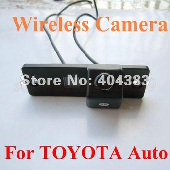 Free shipping!! WIRELESS CAR REAR VIEW REVERSE CAMERA FOR Toyota 4Runner/LAND CRUISER PRADO 2010