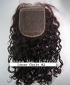 16&quot; #2,100% Virgin Brazilian Hair,Loose Curly 3.5x4 Cheap Lace Closure