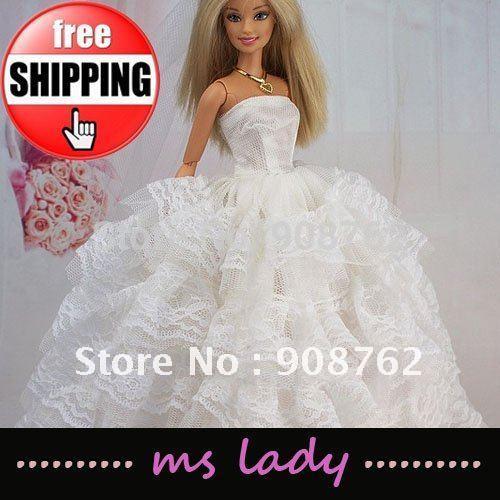 Барби аксессуары для барби 3 шт платье