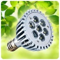 Free shipping PAR30 spot light 7W, ceiling spotlights, E27 led lamps, conference hall lighting,led bulbs for sale