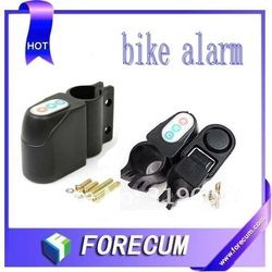 Free Shipping wholesale anti theft alarm system for motorbike bicycle bike dropshipping(China (Mainland))