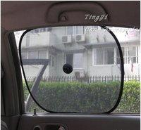 Free shipping ! 2pcs/pair 2pairs/lot Car Side Window/car glass Sun Shade/Suction Cup/car cover sunshade