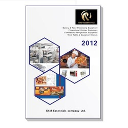 2012 Full color 180 pages printing catalog of Chef-essentials(China (Mainland))