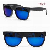 Newest Unisex Sunglass Fashion Eyeglasses Blue Mirror lenses with UV400 Protection 7267-8