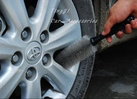 Free shipping! 2pcs/lot substantial and high efficiency Car Wheel&tire Cleaning wash care Brush/wholesale retail