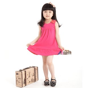 Free shipping!!Factory Direct! HOT SELLING! TOP QUALITY! Children's clothing fashion baby girls short-sleeved lace dress 0649