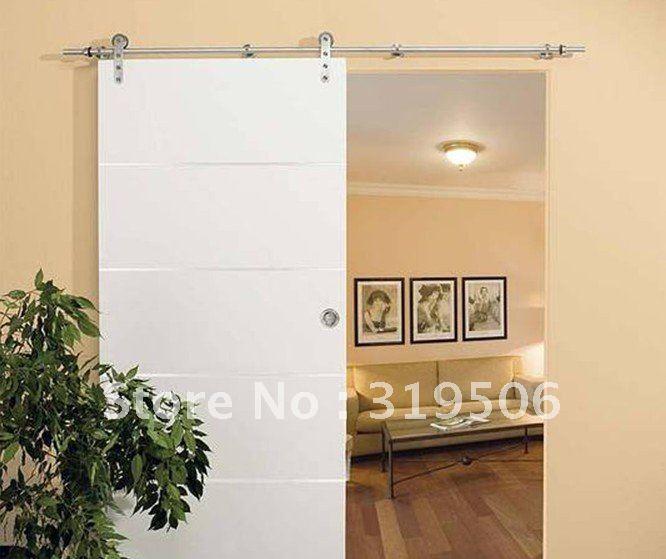 Online get cheap stainless steel barn door hardware for Cheap sliding barn doors