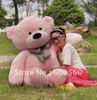 Pink Color Giant Plush Stuffed Teddy Bear Free Shipping FT90056 78 INCHES (200cm)