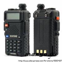 BAOFENG UV-5R walkie talkie 136-174/400-470Mhz Dual Band DUAL freq.  UHF/VHF two way radio + Earpiece