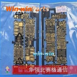 FREE SHIP, bare logic board, nude mainboard, exposed mother board, PCB for iphone 4 4g gen(China (Mainland))