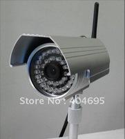 Outdoor waterproof wireless network camera / wireless IP camera  / built-in WIFI infrared 20 m