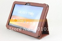 Leather Cover Case for Samsung Galaxy Tab 8.9 P7310 P7300 free shipping by air mail ED467
